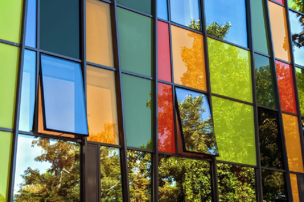 Coloured Aluminium Windows Nottinghamshire